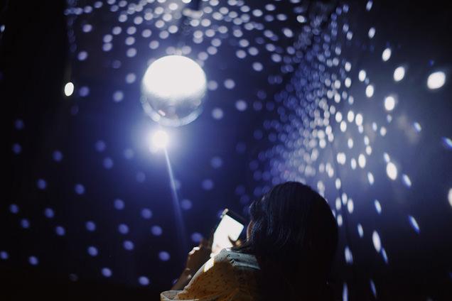 東京タワー「メインデッキ」にあるミラーボール