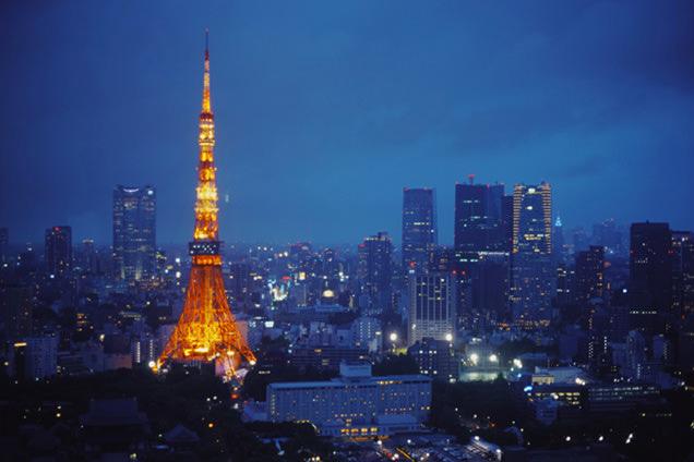 世界貿易センタービル展望台 東京タワー