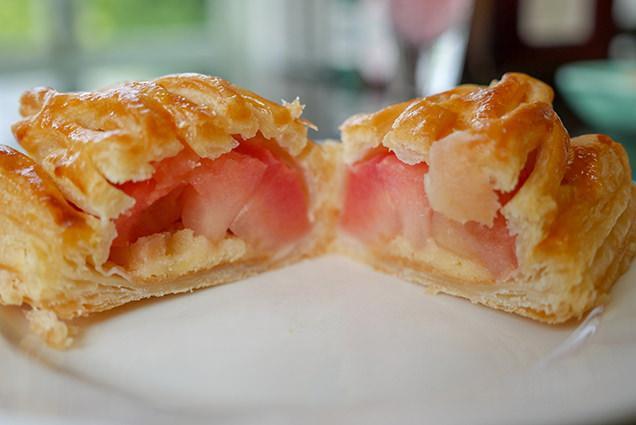 大正浪漫喫茶室 タムラファームのアップルパイ