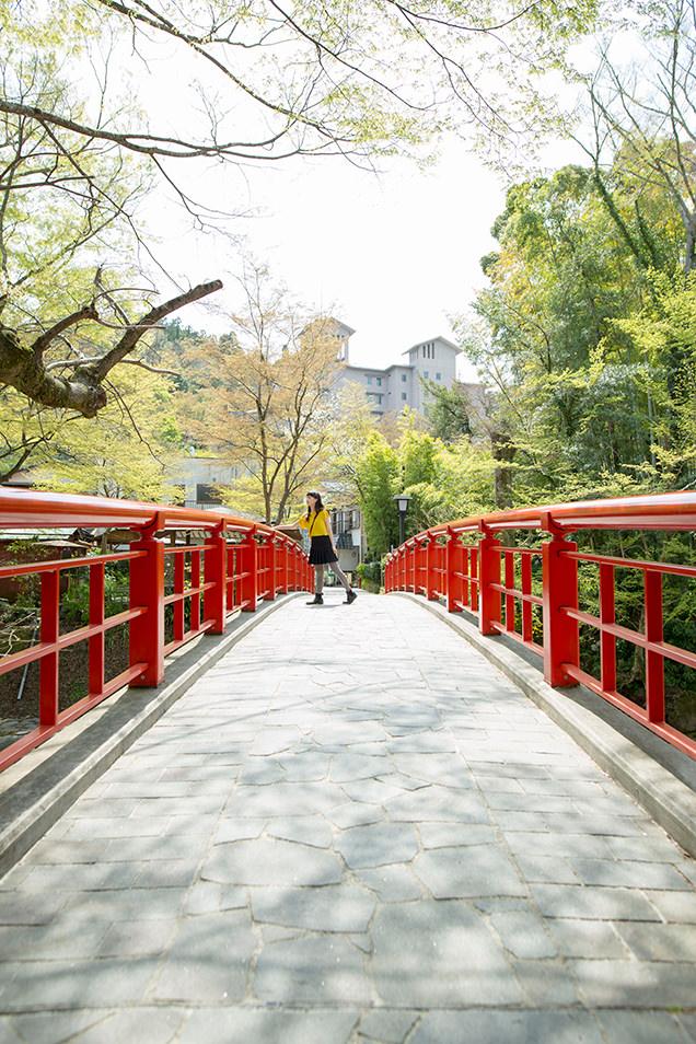桂川にかかる5つの橋の中でもひときわ写真映えするのが、桂橋!のイメージ
