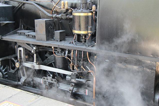 SL大樹 蒸気機関