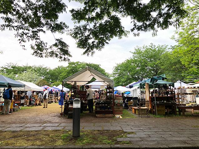 益子陶器市 テント