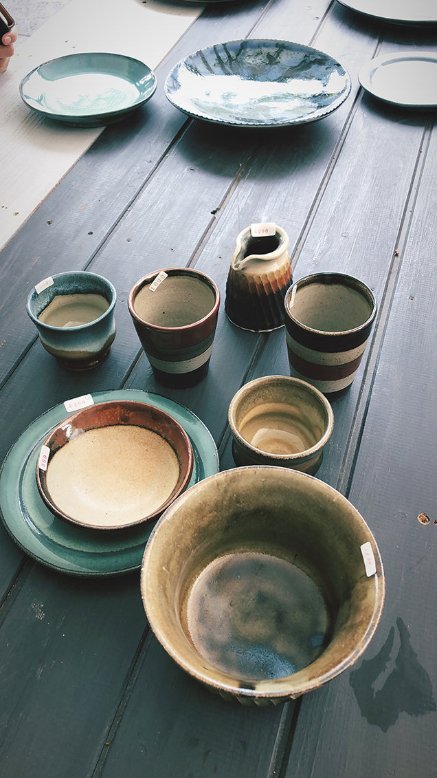 益子陶器市の戦利品