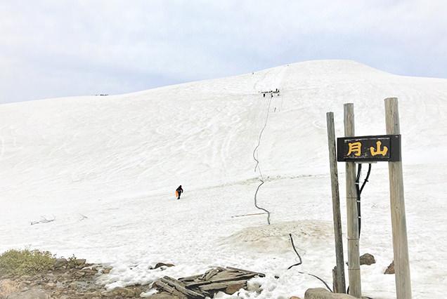 【春から夏に営業するスキー場!?】常識破りの月山スキー場に行ってみた