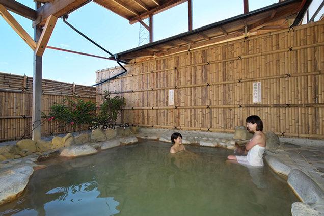 和風庭園風の露天風呂