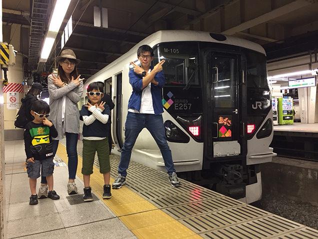 新宿駅 特急あずさ