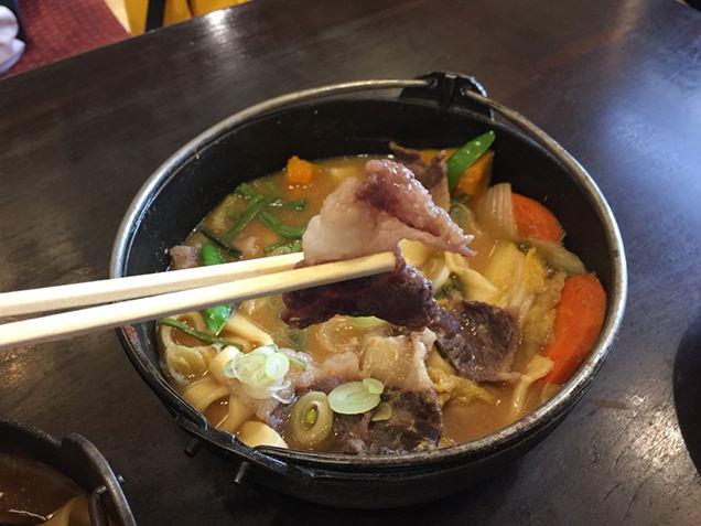 甲州ほうとう 小作 甲府駅前店 熊肉ほうとう