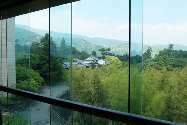 MOA美術館 館内からの風景