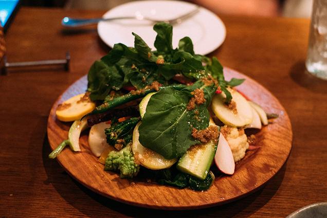 フォセッタ 鎌倉野菜の盛り合わせ
