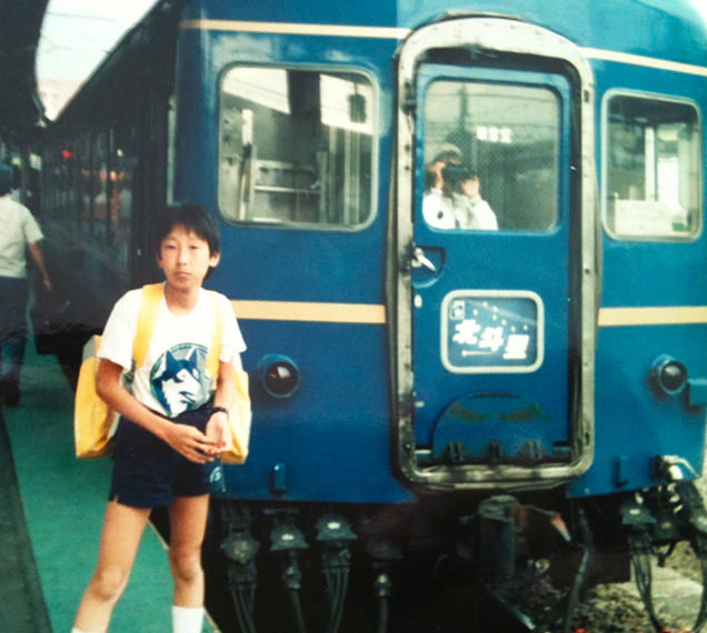 小学校6年生の吉川正洋と北斗星