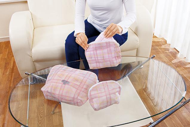 使いやすい洗濯トラベルポーチ