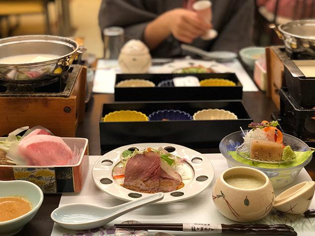 豆富懐石 猿ヶ京ホテル 豆腐料理