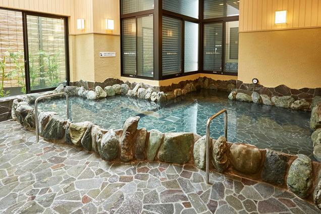 ひだまりの泉 萩の湯 露天風呂