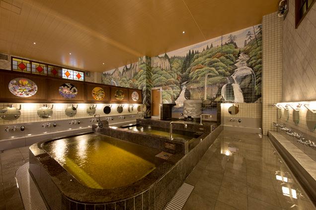 はすぬま温泉 浴室