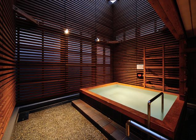 光明泉 屋上露天風呂
