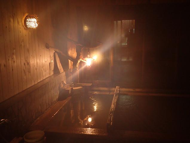 ランプの湯