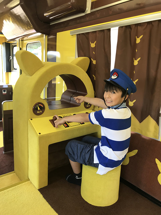POKÉMON with YOU トレイン ポケモン列車のプレイルーム