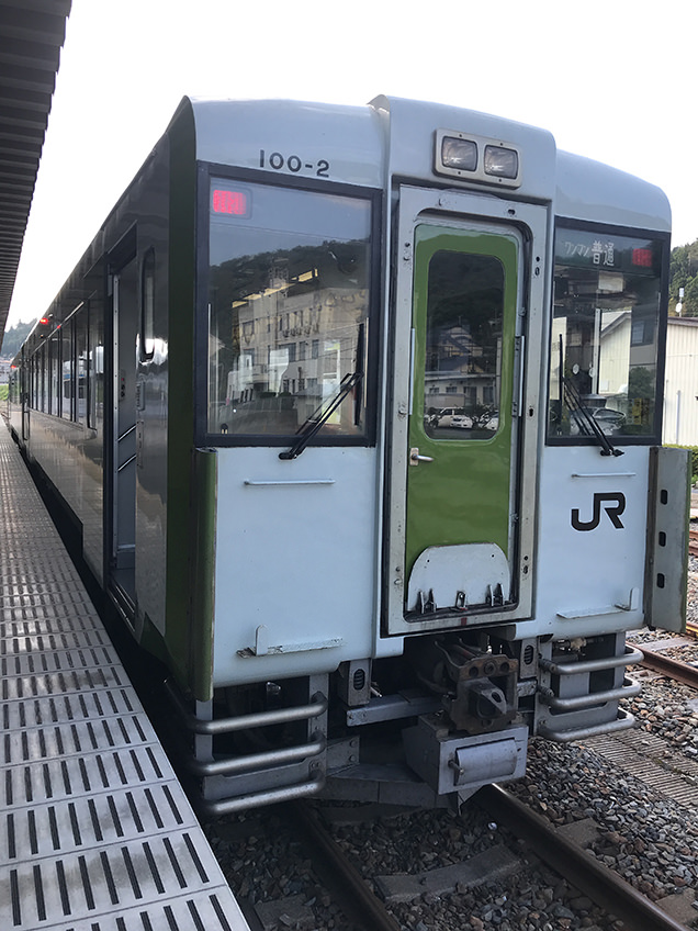 気仙沼駅 ドラゴンレール大船渡駅