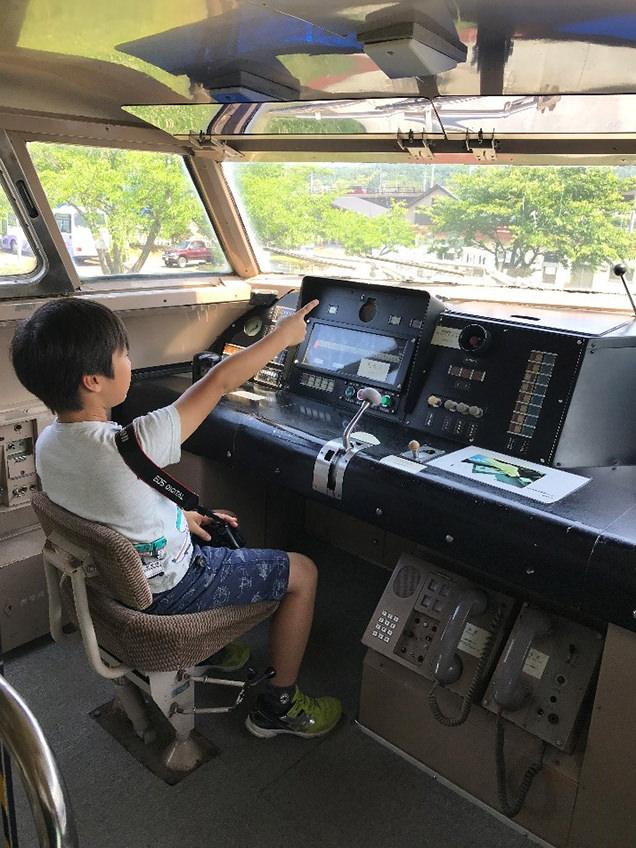 新幹線総合車両センター 運転台