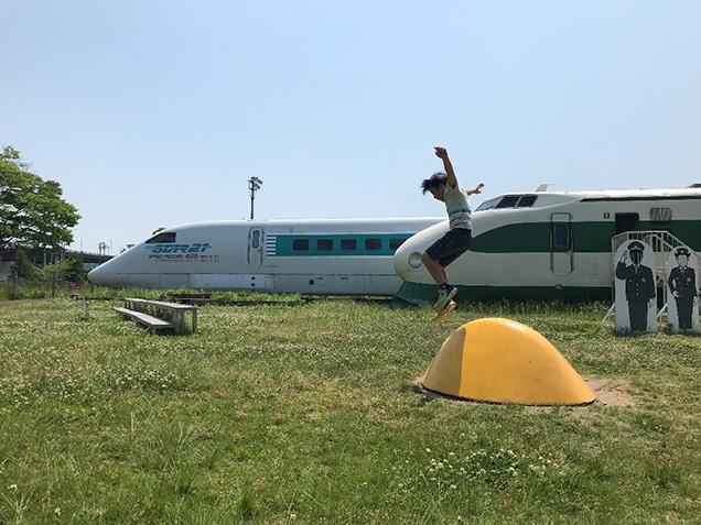 新幹線総合車両センター 遊具