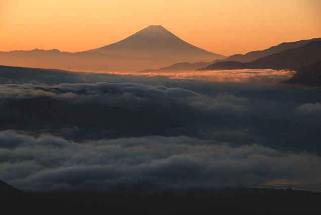 高ボッチ高原からの雲海