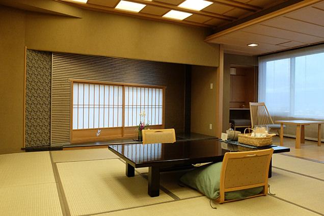 「星野リゾート 界 松本」和室