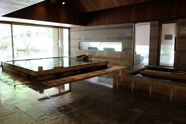 「界 松本」内風呂