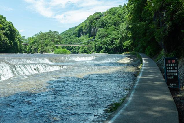 吹割の滝 遊歩道
