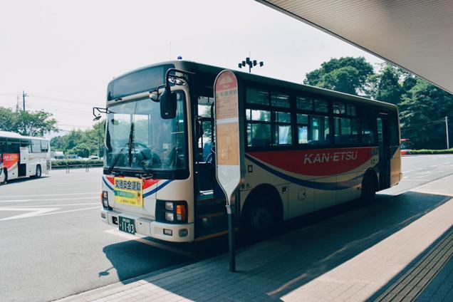 上毛高原駅の関越交通バス