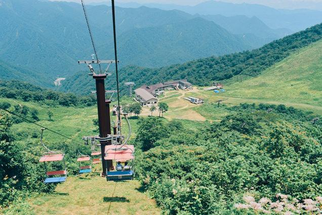 谷川岳天神平のスキーリフト