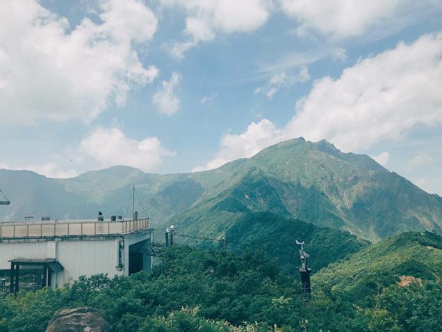 天神峠の山頂