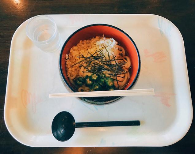 谷川岳天神平のレストランのうどん