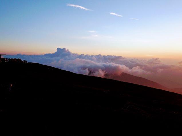 乗鞍・大黒岳から見える雲海
