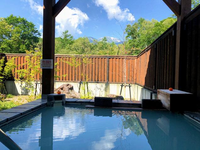 湯けむり館の露天風呂