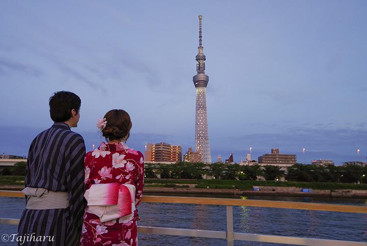 暑さも吹き飛ぶ!粋な東京・屋形船デートのススメ♪