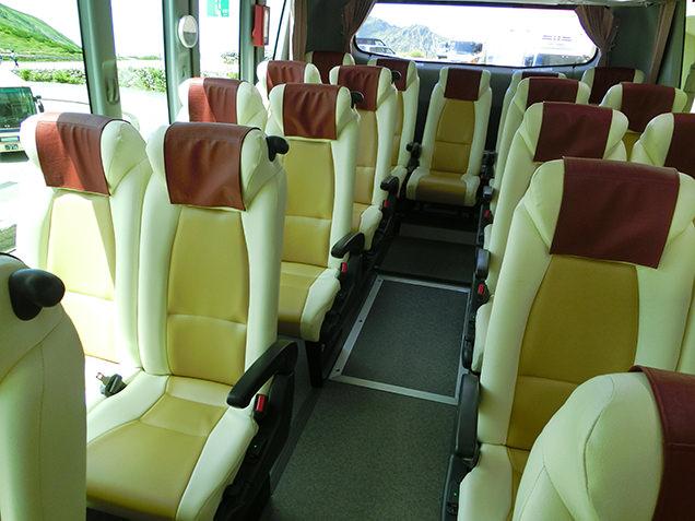 立山高原バス 座席