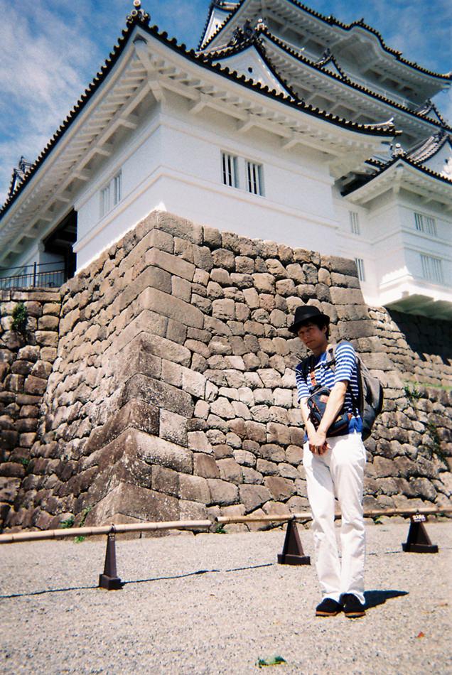 小田原城,写ルンです