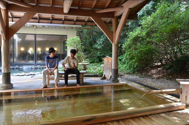 湯本富士屋ホテル,露天風呂