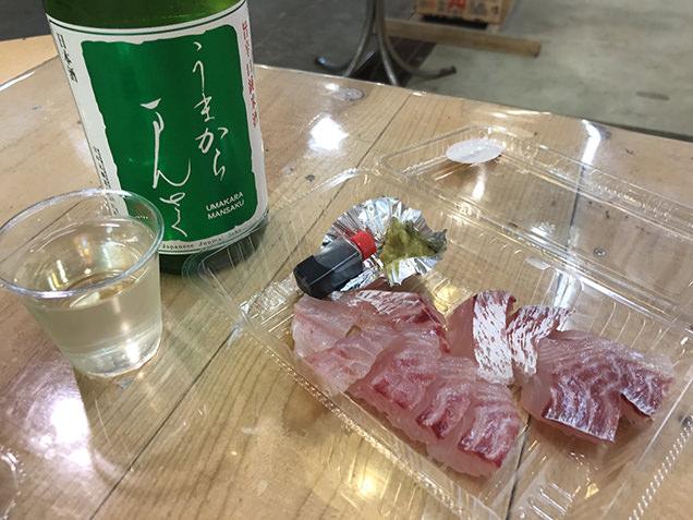 秋田市民市場 イートインスペース