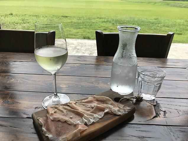 白ワイン 生ハム