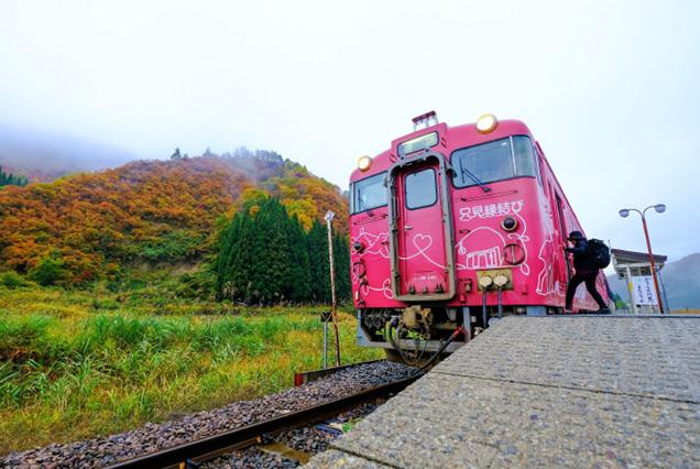 只見線 列車