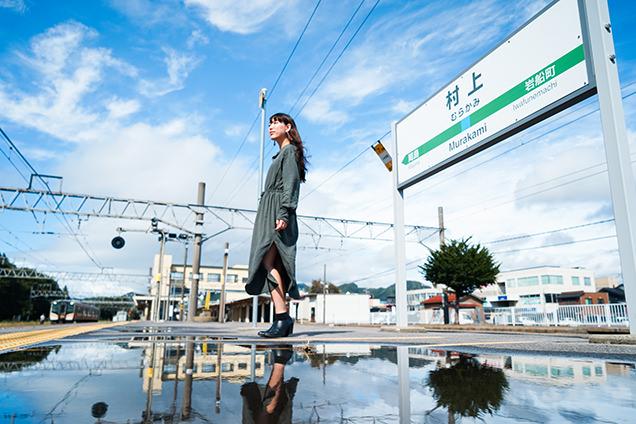 新潟 村上駅