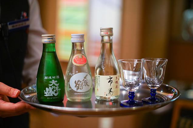 汐美荘 日本酒