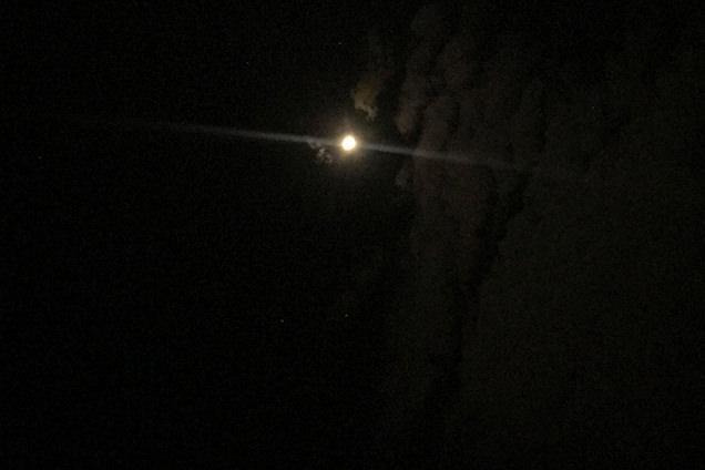 ほったらかし温泉 10月 早朝の空