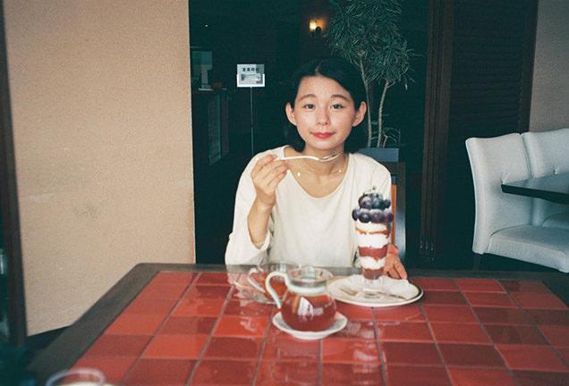 フルーツパーク富士屋ホテル ぶどうパフェ 祝茉莉