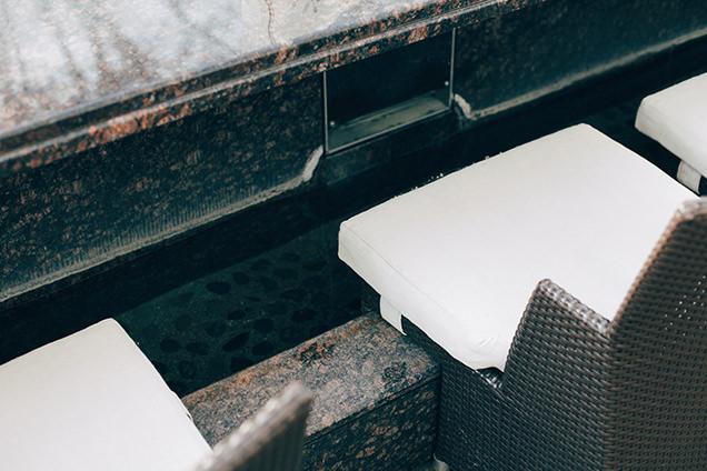ベーカリー&テーブル箱根 足湯
