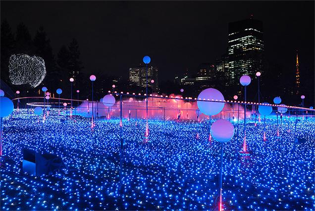 赤坂・東京ミッドタウンのイルミネーション