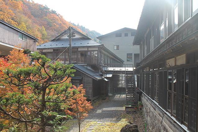 大沢温泉の湯治部