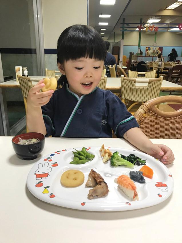 鴨川シーワールドホテル レストラン 食事 子ども