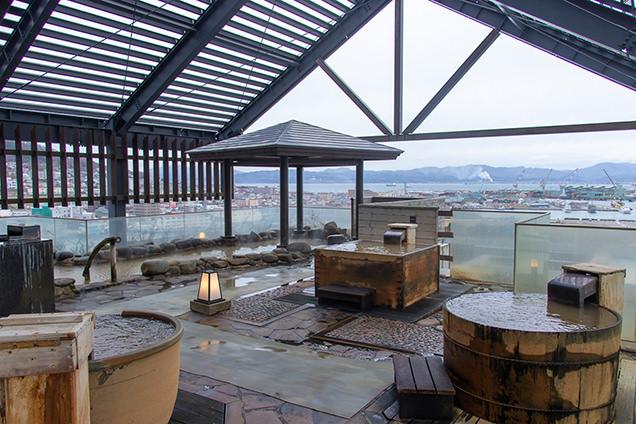 ラビスタ函館ベイの露天風呂